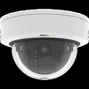 AXIS Q3709-PVE, 3840x2880, MJPEG/H.264 PoE+, (Класс IP66,  HDTV 4K, 30 к/с при разрешении 3 x 4K, Zipstream, Заводская фокусировка объективов.)