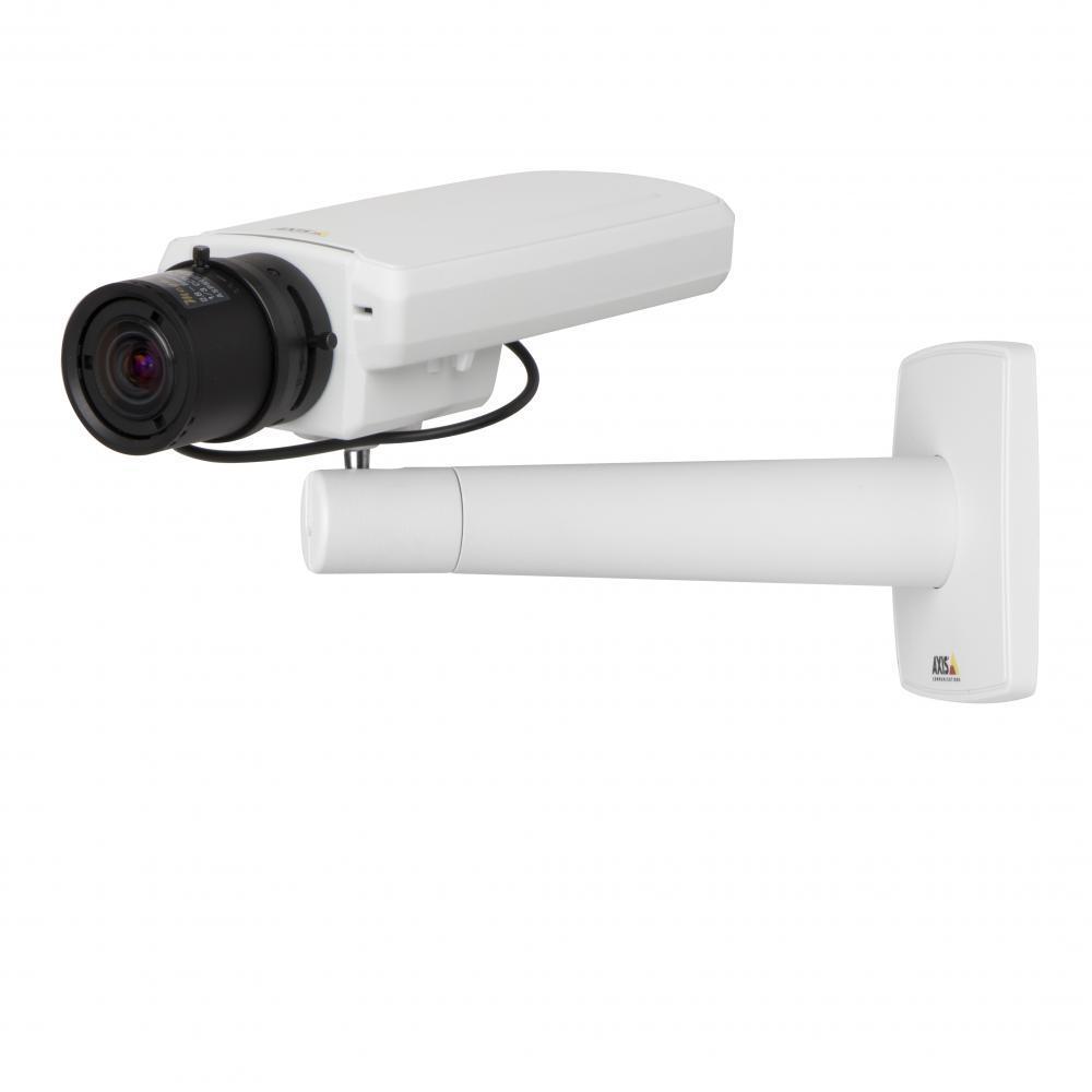 AXIS P1354 100°–34° 1,3 Мп, Технология Lightfinder, 1280x960, 30 к/с, 2,8-8 мм, POE, H.264, цифровое PTZ (Двунаправленная передача аудиосигнала, Запись на SD/SDHC карточку)
