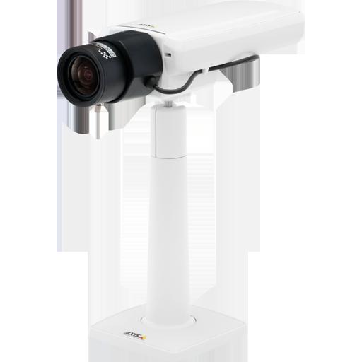 AXIS P1357-E 80°–32°  5 Мп, 2592x1944, 30 к/с, 2,8-8 мм, POE, MicroSD / MicroSDHC, H.264 (Двунаправленная передача аудиосигнала, Запись на SD/SDHC карточку, Микрофон)